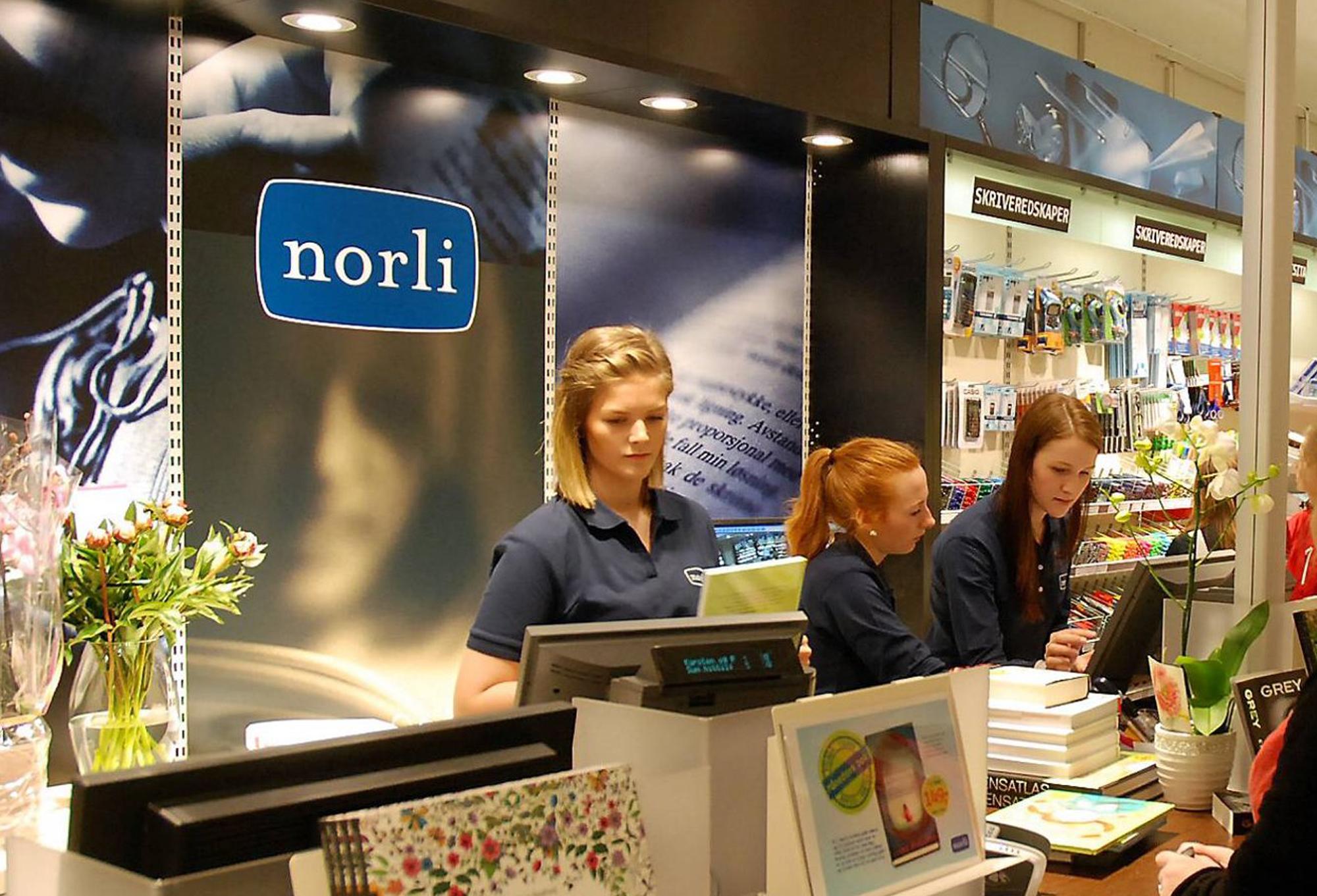 Norli butikk__