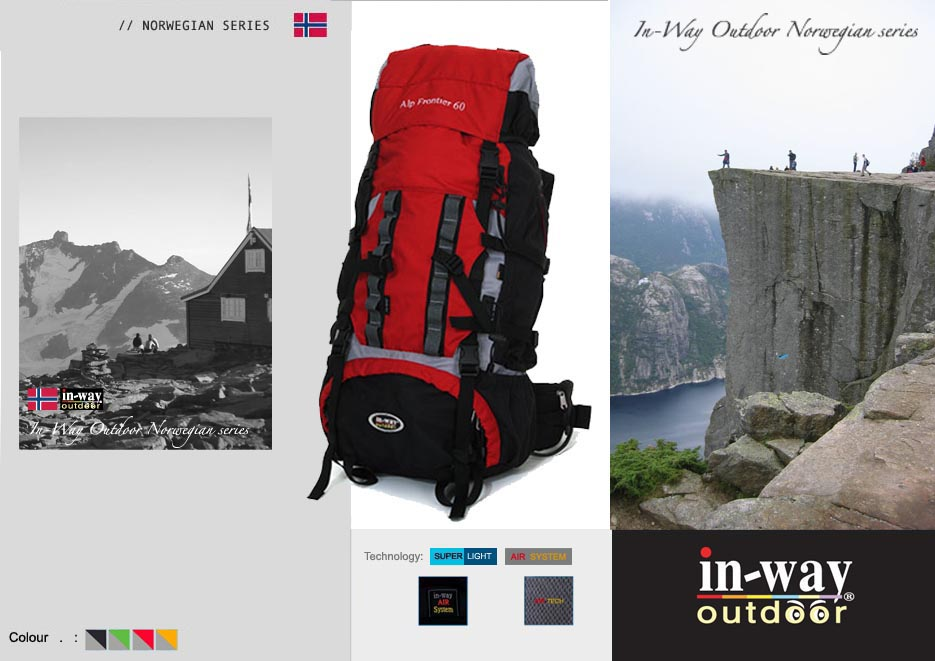 In-Way Product Mountain rucksack kopi