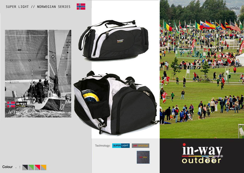 In-Way Product sports bag kopi